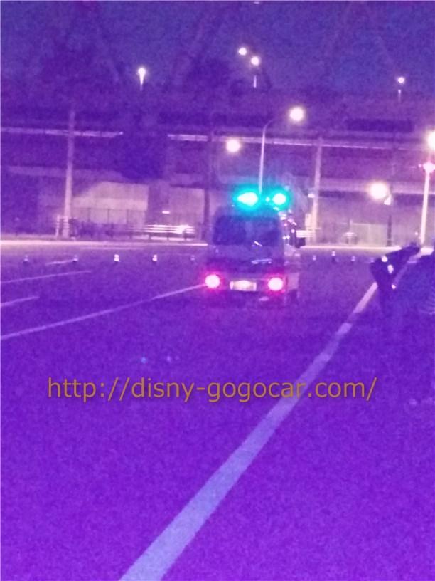 ディズニーランド駐車場に深夜到着した時の注意事項