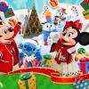 ディズニークリスマスのイベントと混雑状況は?