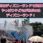 【2日目TDL編】ディズニー夏祭り2017やっぱりランドは満足感高い!