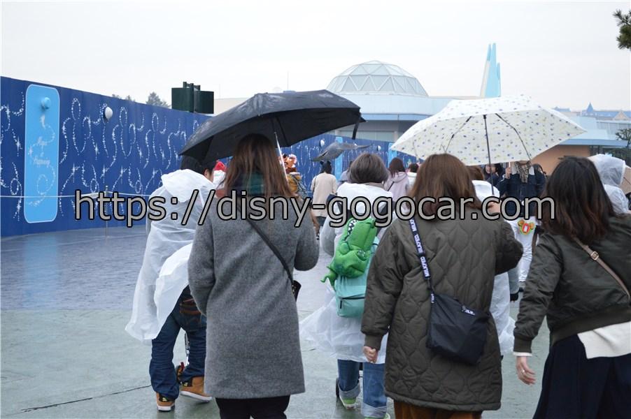 ディズニーランド 雨 傘