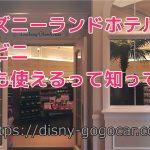ディズニーランドホテルのコンビニ誰でも使えるって知ってた?品揃えや価格注意点について