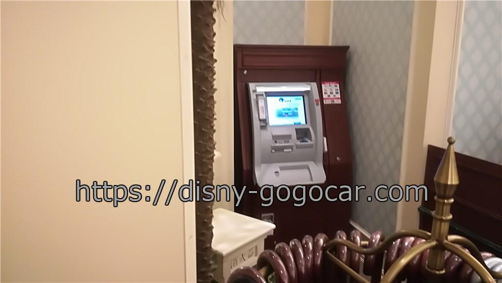 ディズニーランドホテル ATM